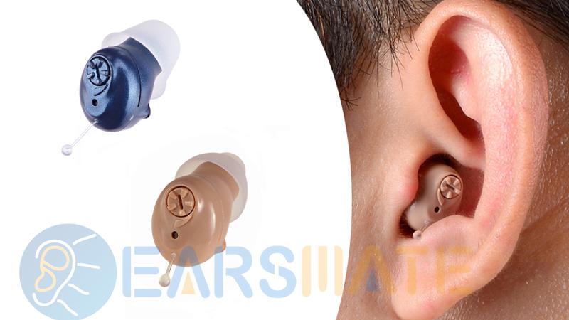 Une paire de 2 unités dans le canal auriculaire Meilleures aides auditives numériques