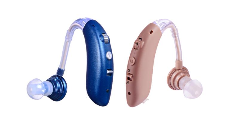 Prothèses auditives BTE avec piles rechargeables